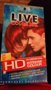Schwarzkopf XXL red hair dye