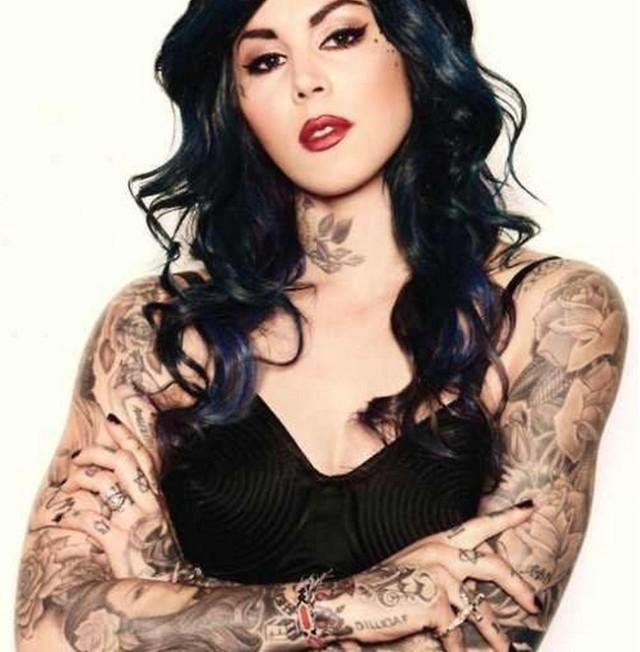 tattoo Kat Von D