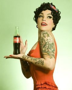 Tattooed retro