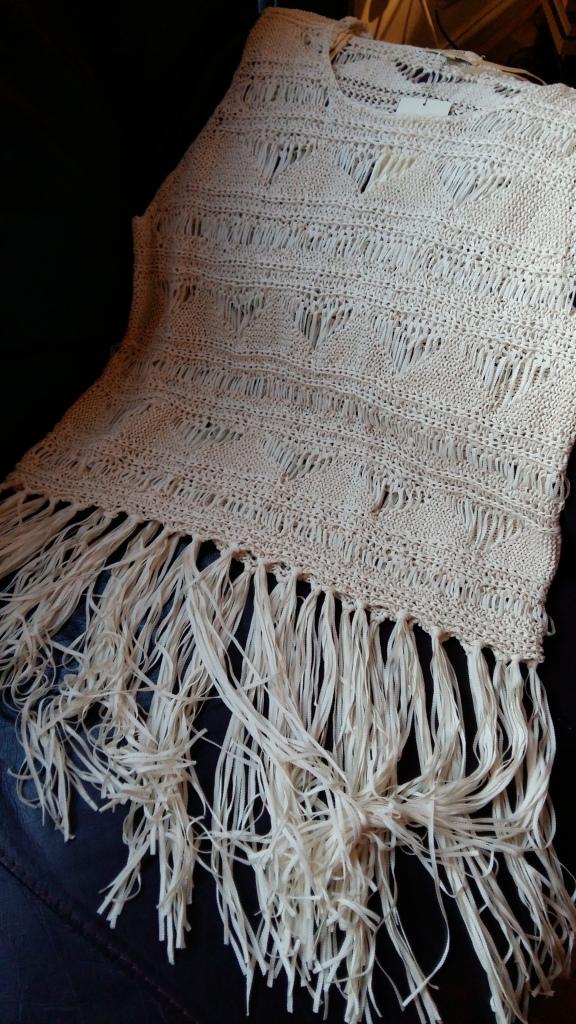 Matalan crochet fringed top