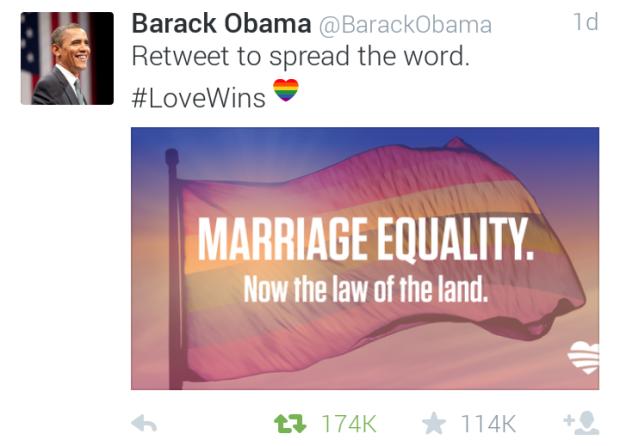 President Obama Twitter