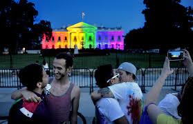 Rainbow Whitehouse marriage equality