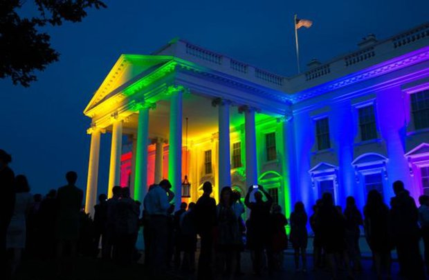 Rainbow Whitehouse marriage equality