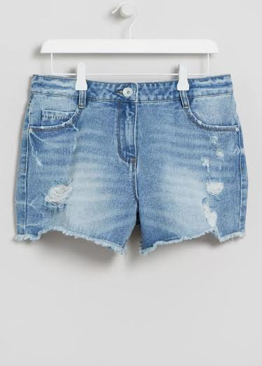 Matalan Falmer denim shorts