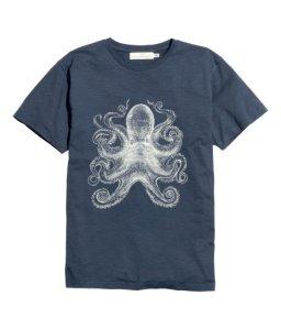 H&M octopus t-shirt