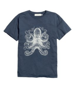 H&M octopus t-shirt