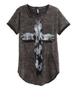 H&M cross t-shirt