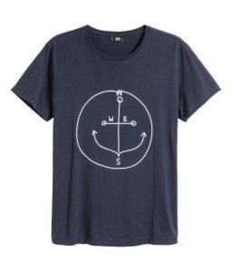 G&M anchor t-shirt