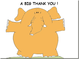 Thank you elephant