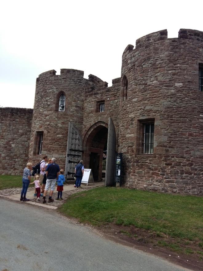 Entrance to Beeston Castle 2