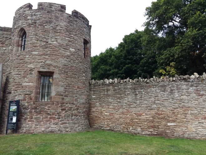 Entrance to Beeston Castle