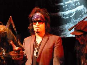 Nikki Sixx at House of Blues Los Angeles
