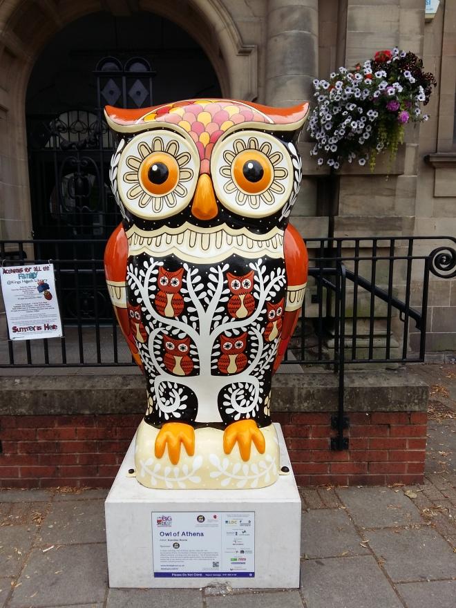 The Big Hoot Owl of Athena