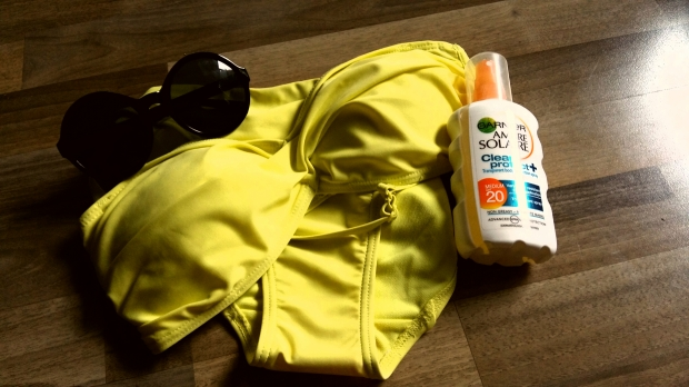 Matalan yellow bikini