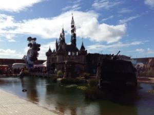 Banksy Dismaland castle