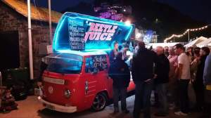 Beetle Juice cocktail van