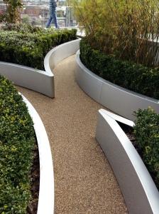Birmingham library gardens