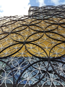 Birmingham library looking up