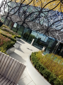 Birmingham library viewing platform