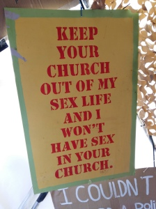 Dismaland church sexuality