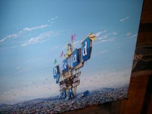 Dismaland Disneyland Dead artwork