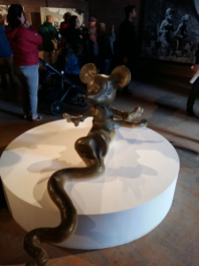 Dismaland mickey mouse snake