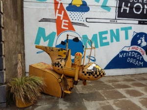 Dismaland old ride