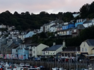 Houses in the hills Looe