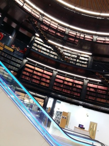 Inside Birmingham Library