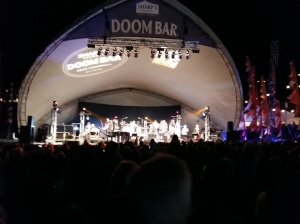 Jools Holland at Looe Music Festival