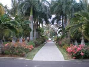 Le Mauricia entrance