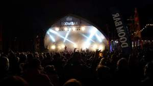 Looe Music Festival at night