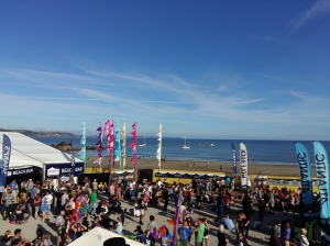 Looe Music Festival beach