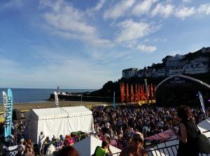 Looe Music Festival main stage