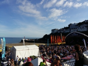 Looe Music Festival main stage