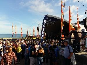 Looe Music Festival stage