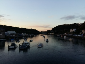 Looking inland from Looe bridge
