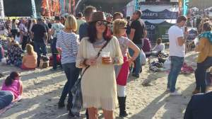 Me at Looe Music Festival