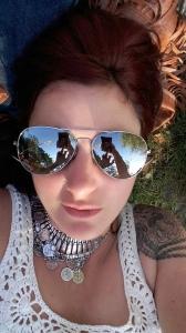 Mirror shades selfie