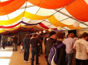 Moseley folk festival bar