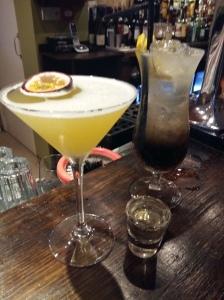 Pornstar martini and long island iced tea