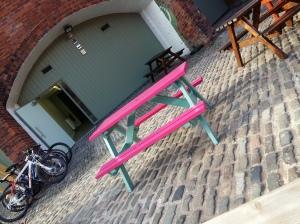 Pretty bench