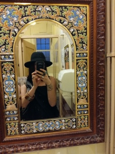 Prince of Wales mirror