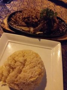 Sabai Sabai duck platter