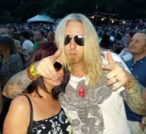 Us at Moseley Folk Festival