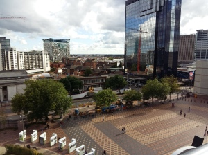 View from Birmingham Library viewing platform