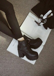 Chunky boots inspiration
