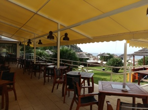 Conca Azzurra hotel terrace