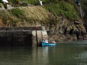 Polperro boat