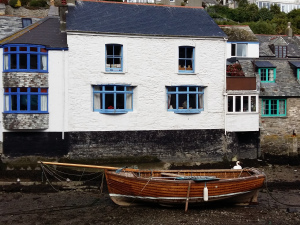Polperro fishing boat